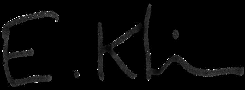 signature E. Klein